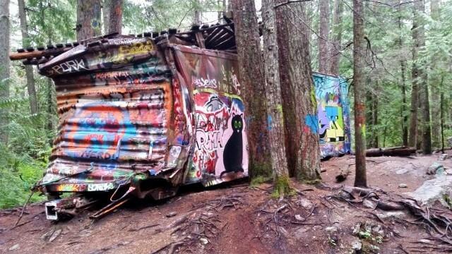 Train Wreck Hike Whistler
