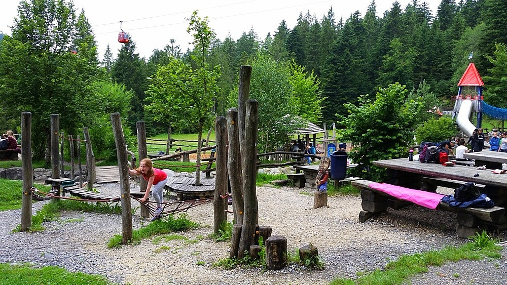 Pilu playground Mt Pilatus