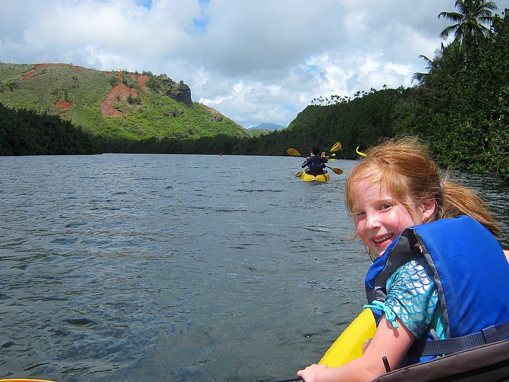 kayaking wailea