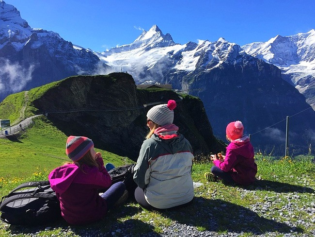 Grindelwald and Lauterbrunnen with kids