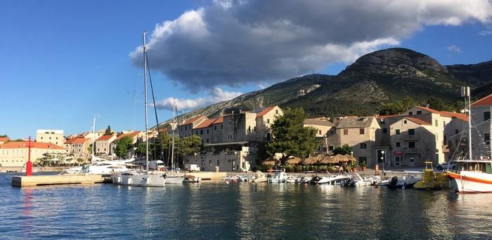 Bol Brac harbour