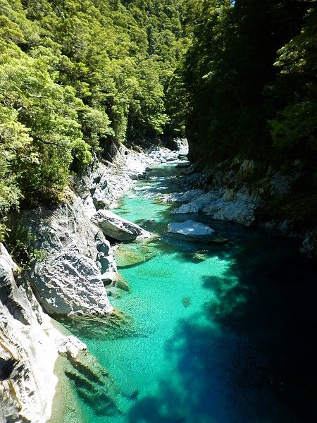 Blue Pools Mount Aspiring NP
