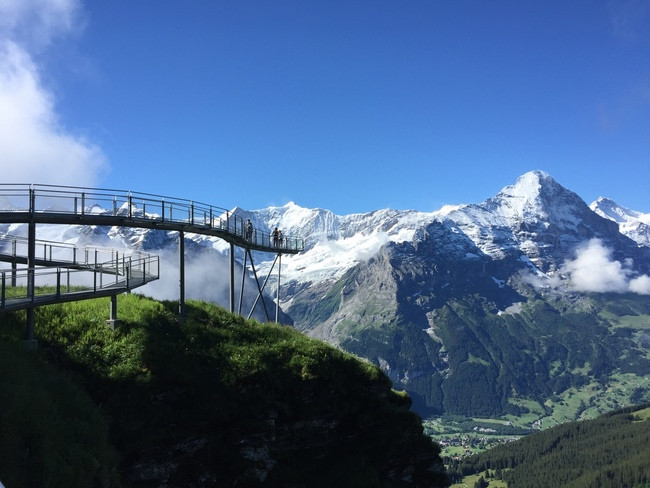 First cliffwalk Grindelwald