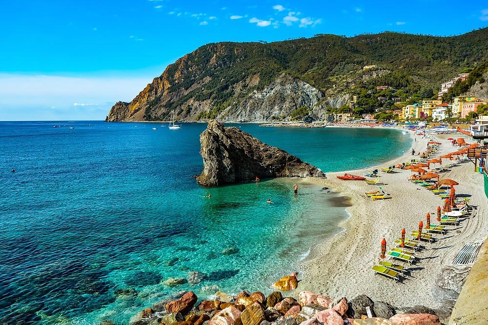 Monterrosso al Mare beach