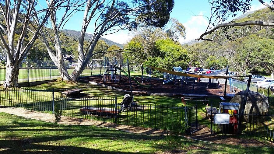 Thredbo Village Green and Playground