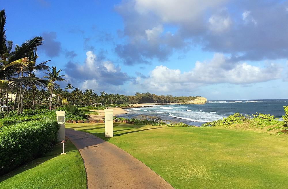 View from the Grand Hyatt Kauai