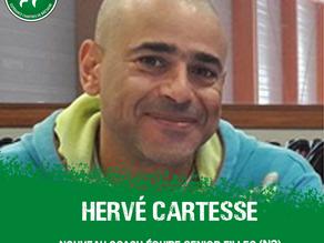 Hervé Cartesse, nouvel entraîneur des séniors !