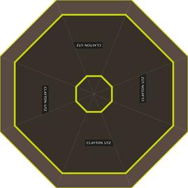 Clayton Utz umbrella design