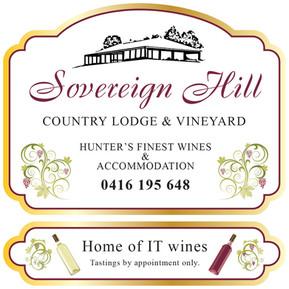 Sovereign Hill entrance signage