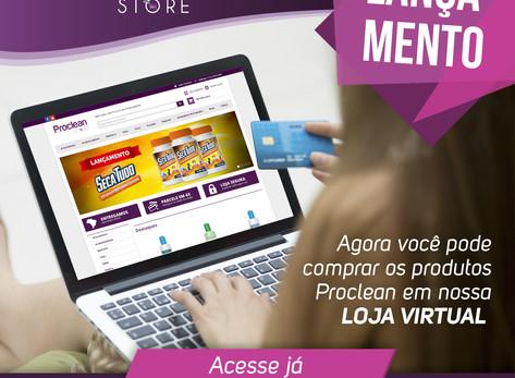 Lançamento Proclean Store