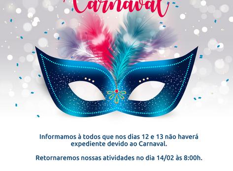 Fique ligado! Feriado de Carnaval