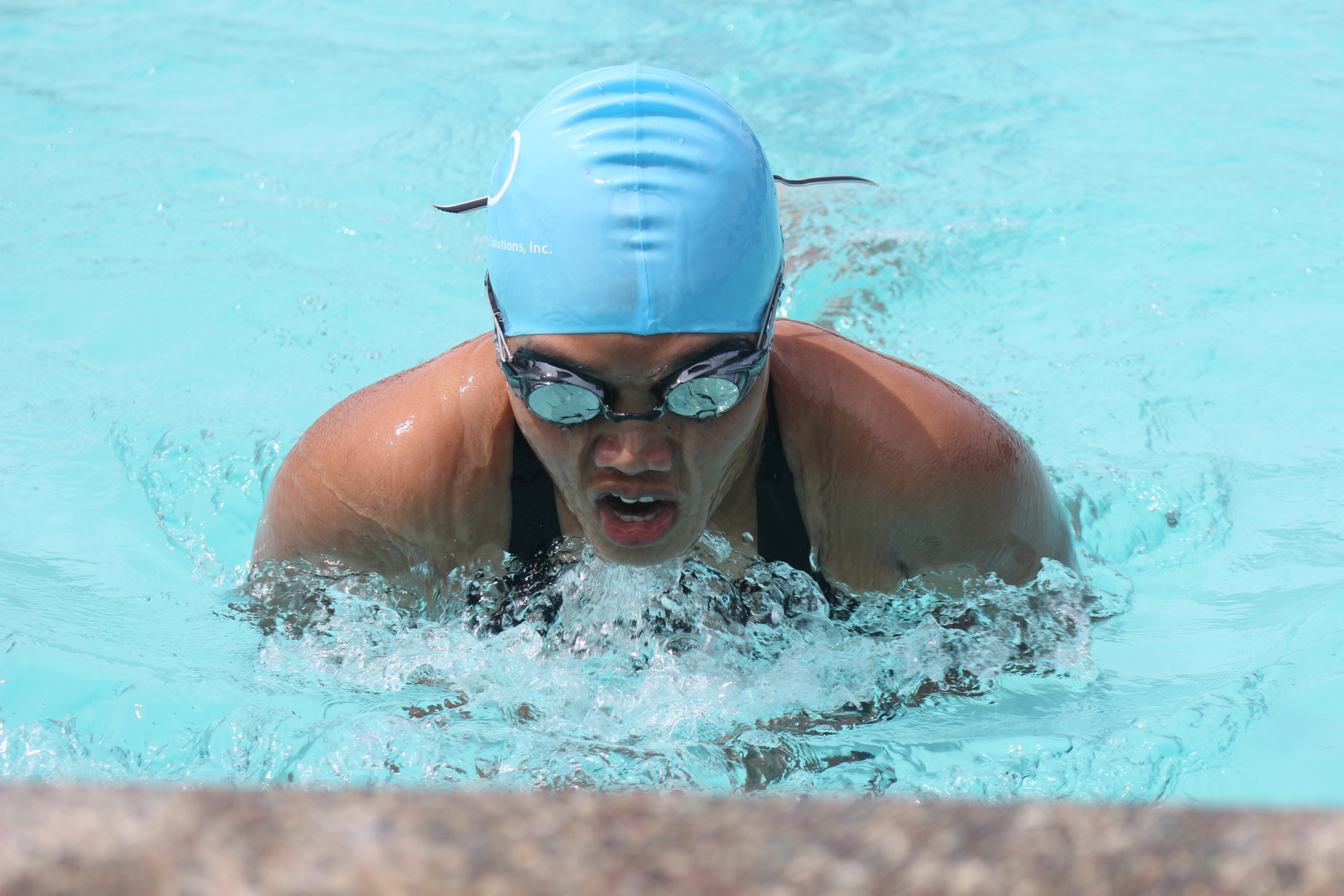 Competitive swimmer 4 stroke analysis