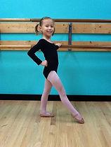 DAUI dancer in class attire