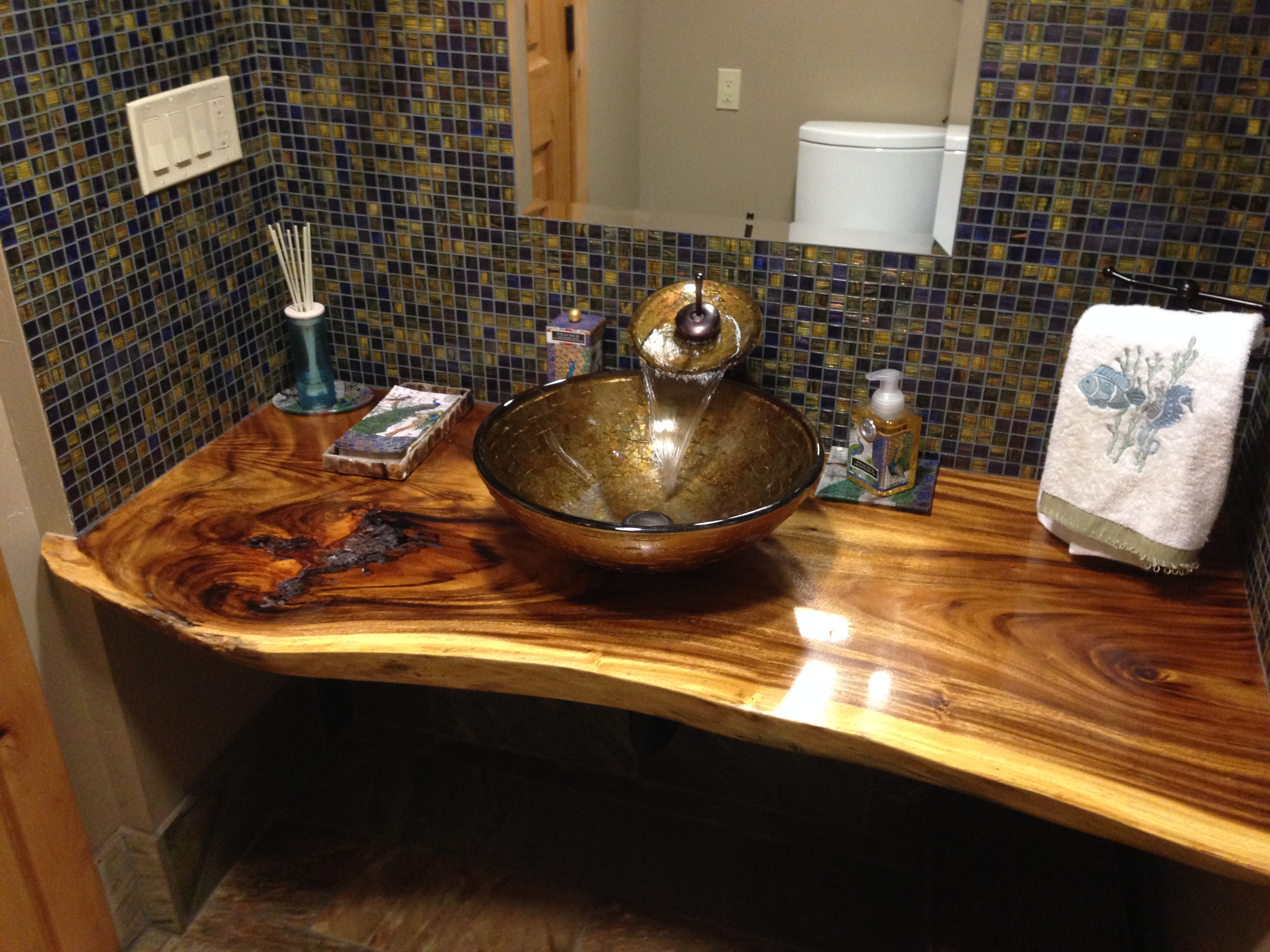 Bath Sink and Countertop