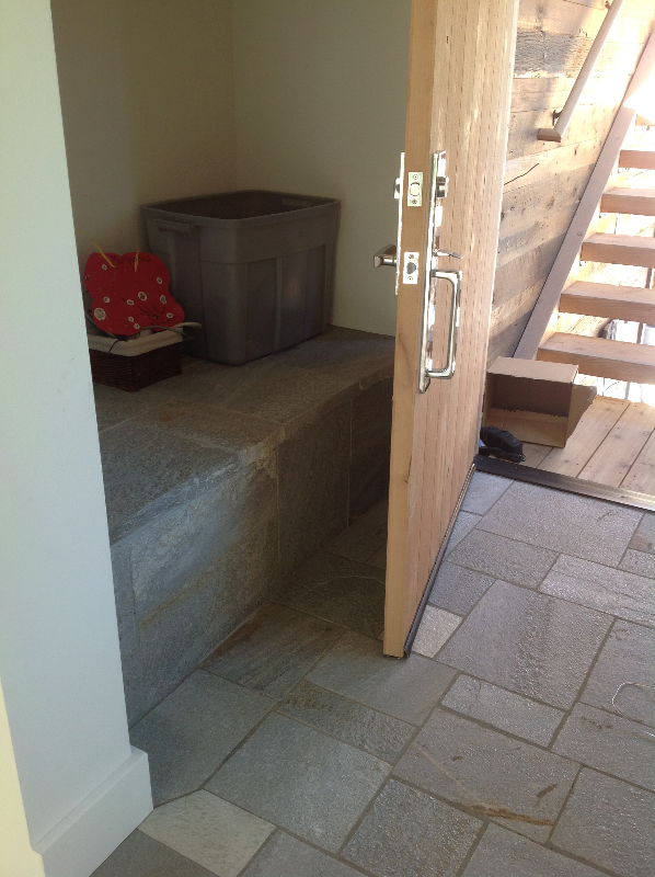 Slate Bench Entry