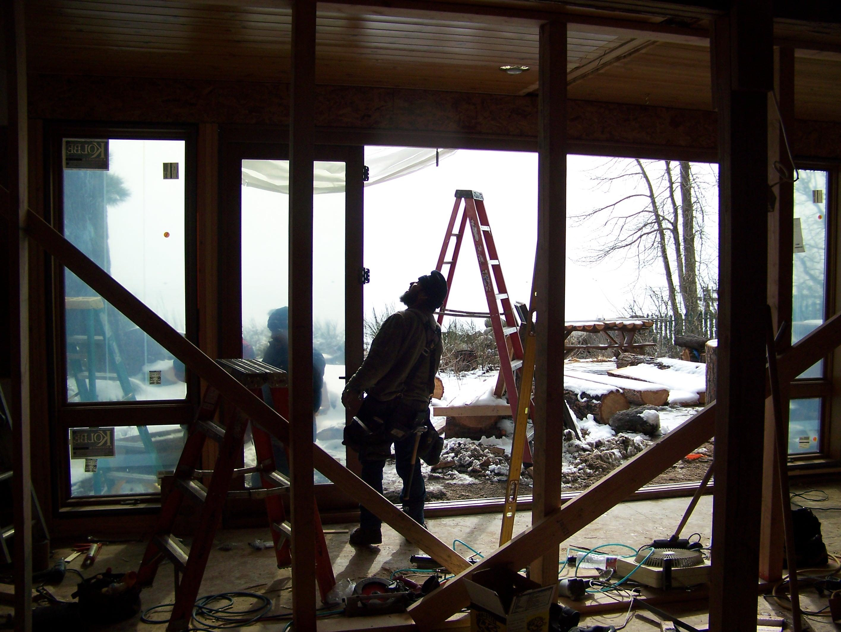 Framing - New Living Room