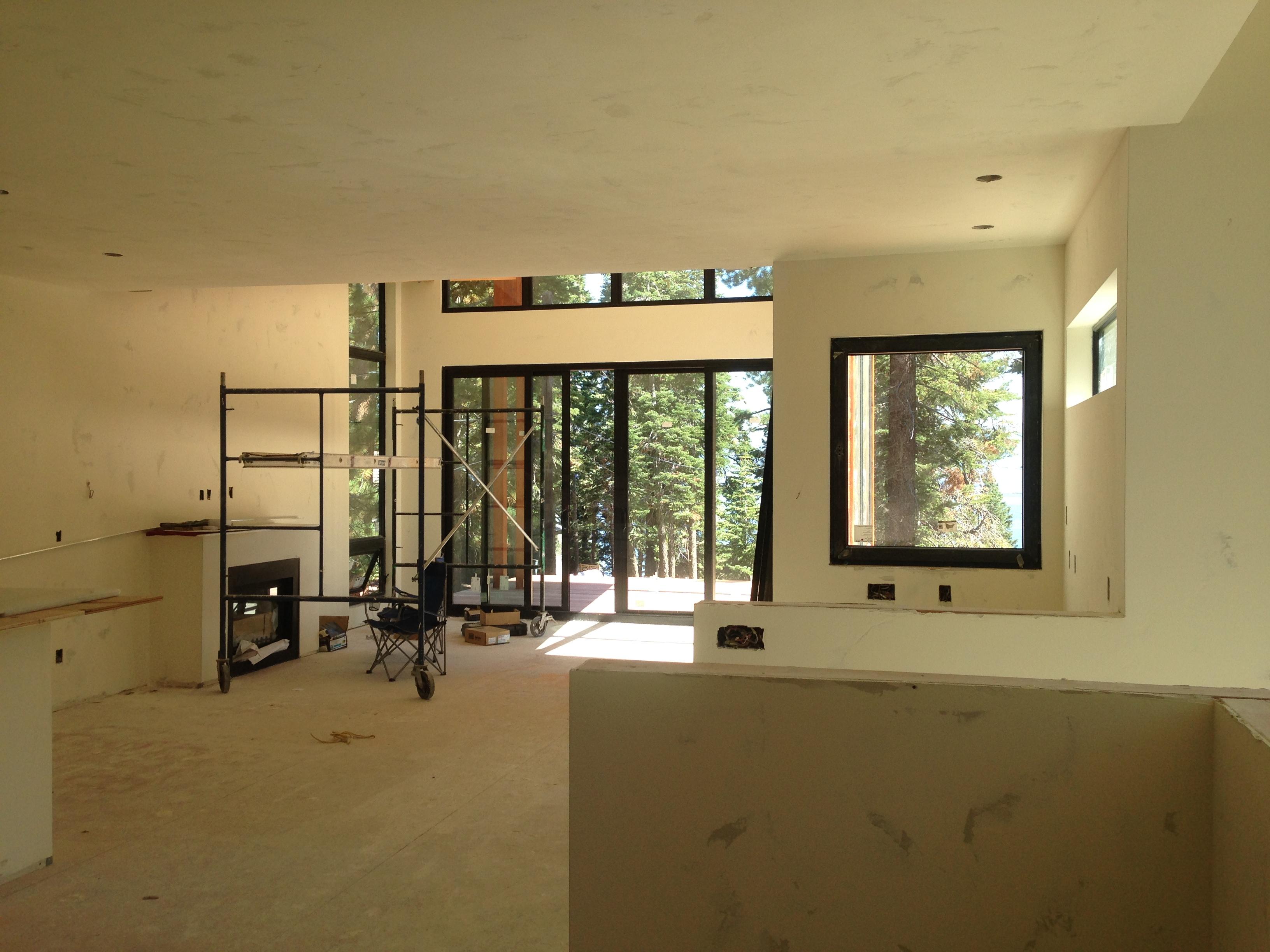 Living Room - Rough Finish