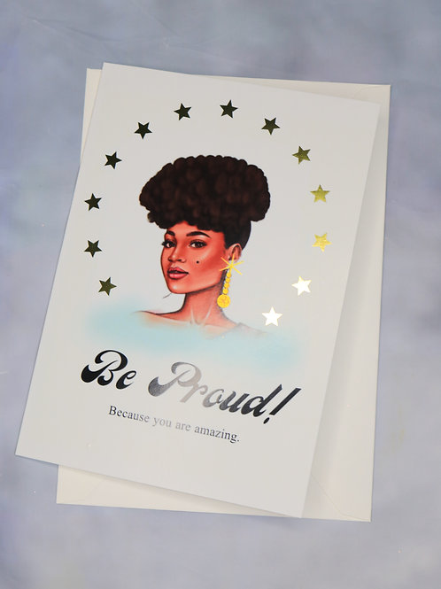 Be Proud Card