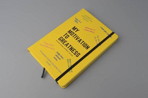 Yellow Motivational Notebook