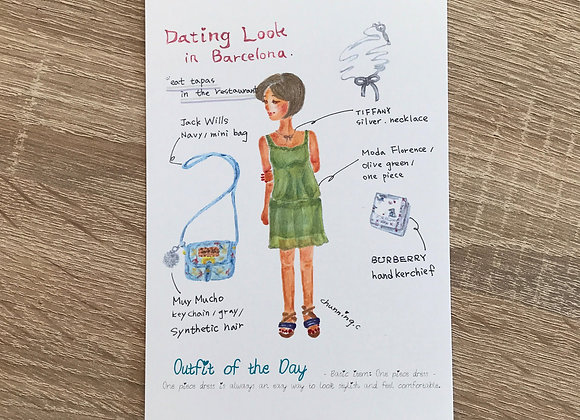 Dating look in Barcelona