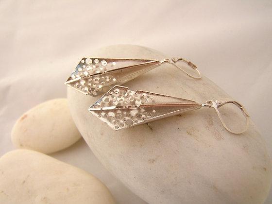 Crystallization earrings