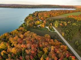 Walloon Lake fall scene