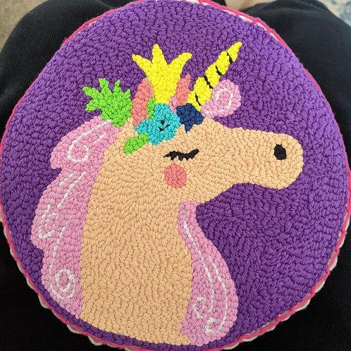 Unicorn Goddess Punch Embroidery Bag