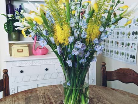 5 Top Tips for Longer Lasting Flowers