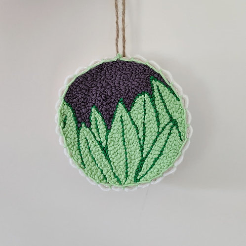 Houseplant Punch Needle Embroidery