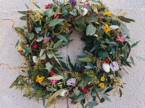 Seasonal Foliage Wreath