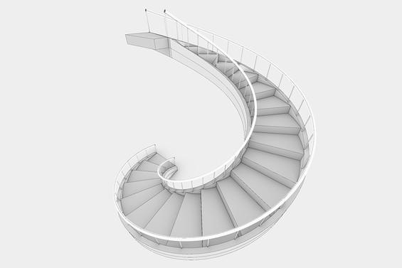 Grasshopper: Spiral Staircase