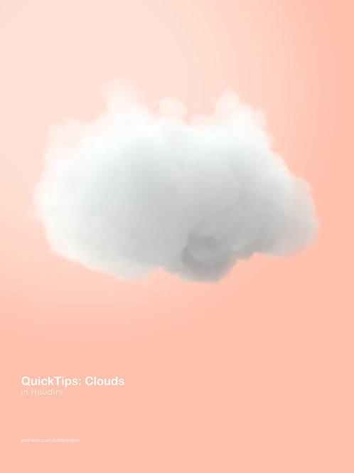 Houdini: Quick Setup Clouds