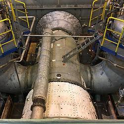Proces izolacji turbiny gazowej