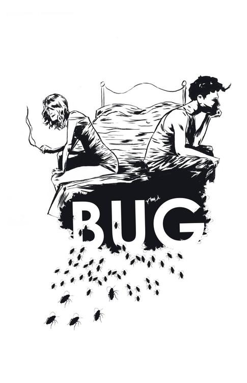 Bug poster b/w