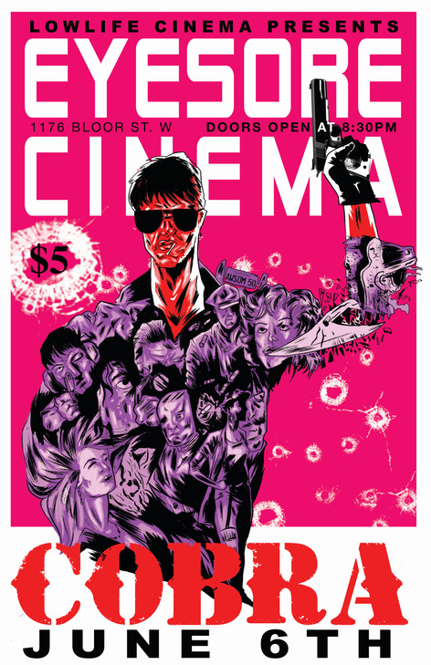 Eyesore Cinema Poster