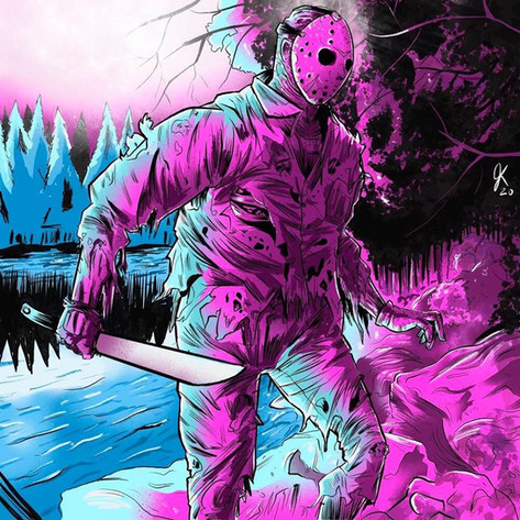 FRIDAY THE 13TH ART