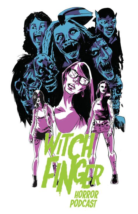 witchfinger Horror podcast poster
