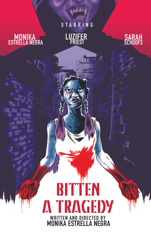 Movie poster for Bitten A Tragedy