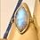 Thumbnail: Sterling Silver Labradorite ring
