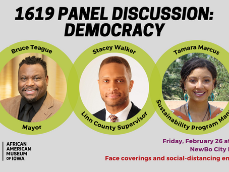 Meet the panelists of the 1619 Panel Discussion: Democracy