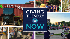 It's #GivingTuesdayNow-Fest at NewBo City Market