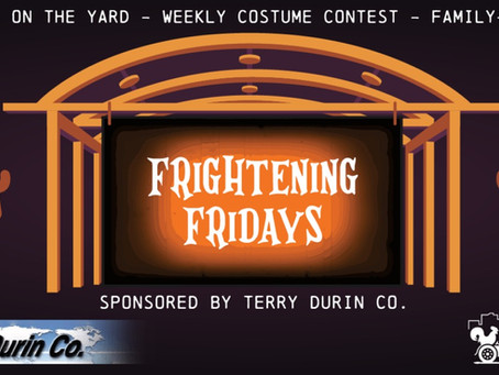 Every Friday in October is Frightening Friday!