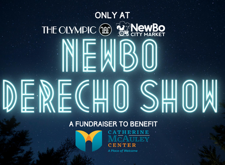 NewBo City Market and The Olympic working together to fundraise for the Catherine McAuley Center