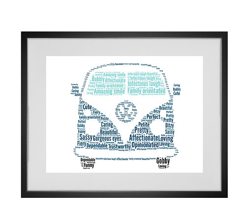 Personalised Word Art Gifts, Unique Keepsake gifts,  Gifts for her, Gifts for him, VW camper Gift, Camping Prints, VW Caravan