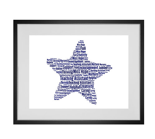 Personalised Word Art Gifts, Unique Keepsake gifts, teacher gifts, best teacher in the world,  Gifts for her, Gifts for him
