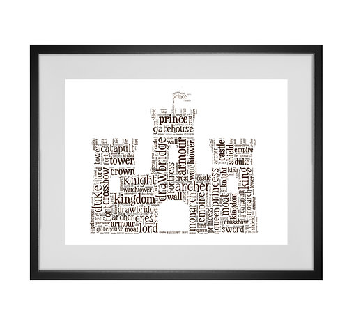 Personalised Word Art Gifts, Unique Keepsake gifts, personalised Letter Art, Gifts for Kids, Boys Room Decor