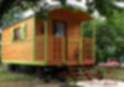 La Maison du Passant - chambres d'hotes et roulotte à chouze sur loire : deuxieme photo de la roulotte