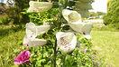 La Maison du Passant - chambres d'hotes et roulotte à chouze sur loire : quatrieme photo du jardin