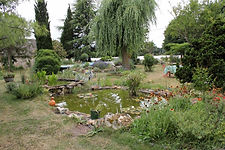 La Maison du Passant - chambres d'hotes et roulotte à chouze sur loire : photo du potager