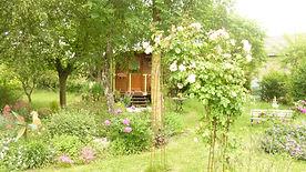 La Maison du Passant - chambres d'hotes et roulotte à chouze sur loire : cinquième photo de la roulotte